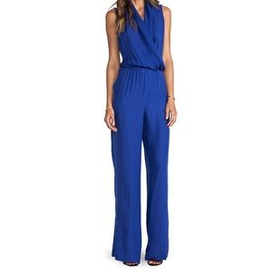 Parker Calypso Blue Jumpsuit